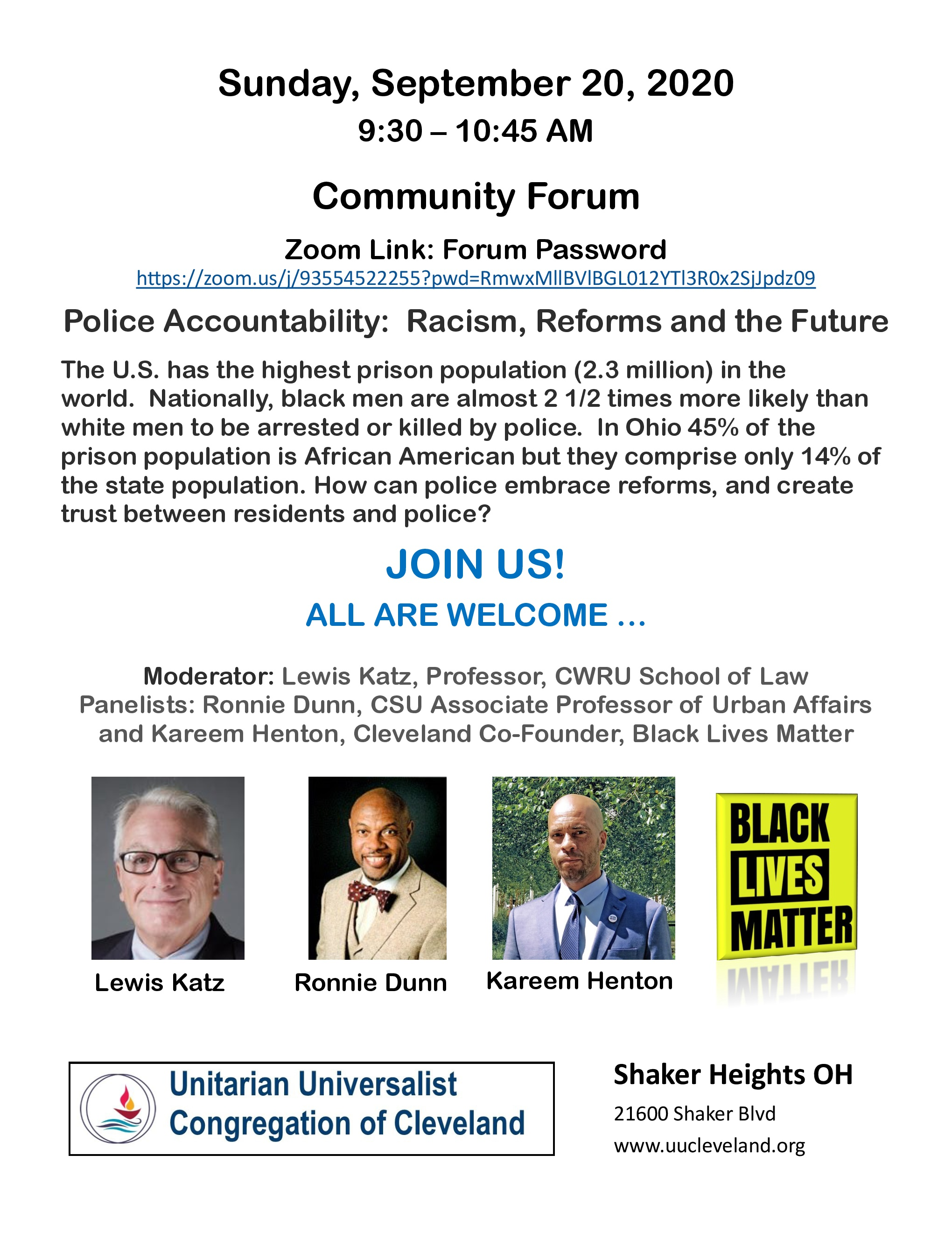 Police Accountability: Racism, Reforms and the Future