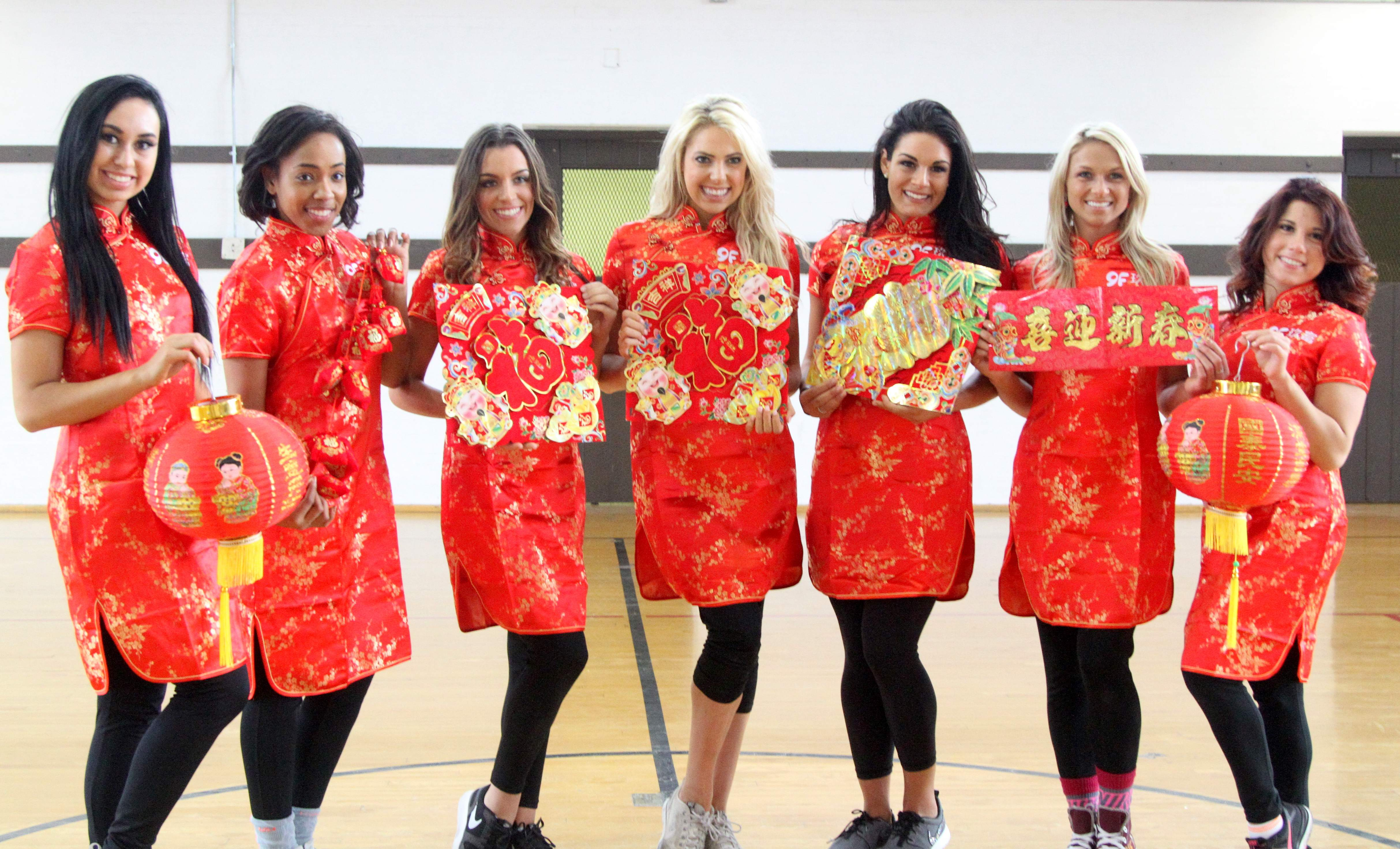 Cavs Girls Celebrate Lunar New Year