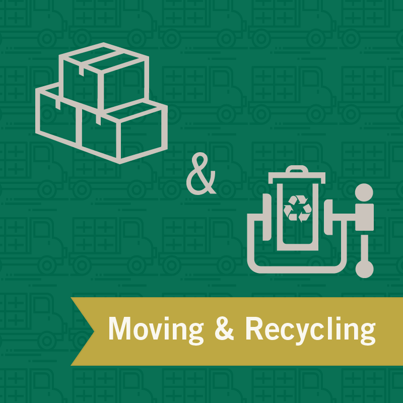 Moving & Recycling Graphic