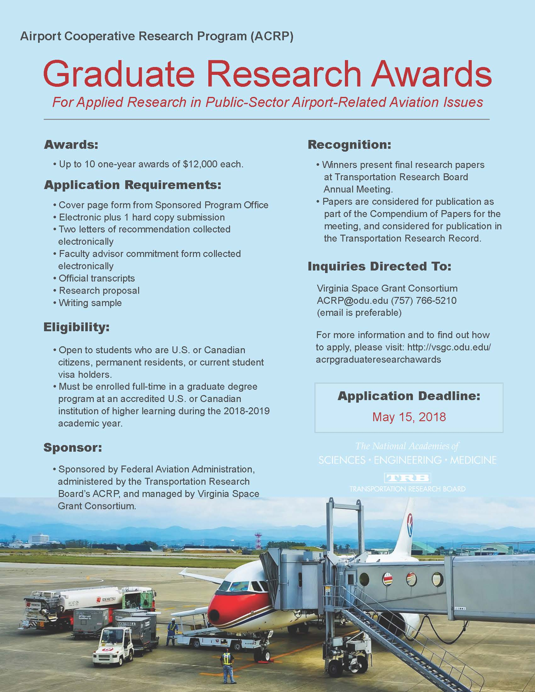 Research Awards Application