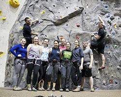Adventure Rec Rock Climbing