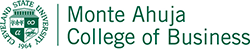 Monte Ahuja College of Business Logo