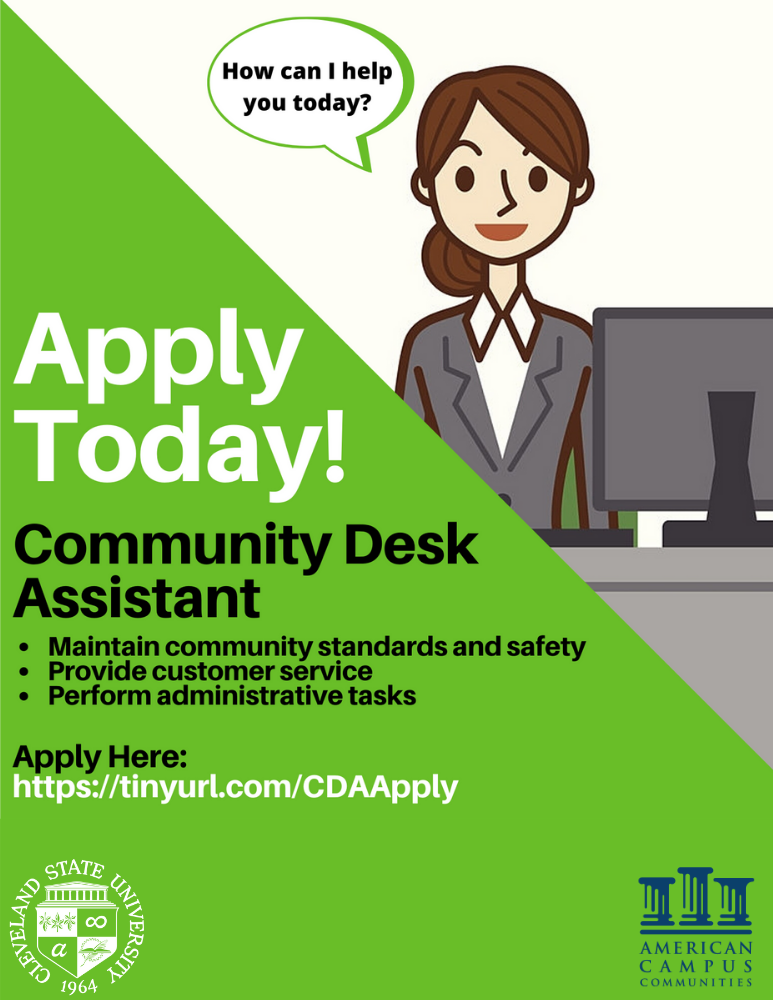 Apply today to be a CDA! Visit tinyurl.com/CDAAPPLY
