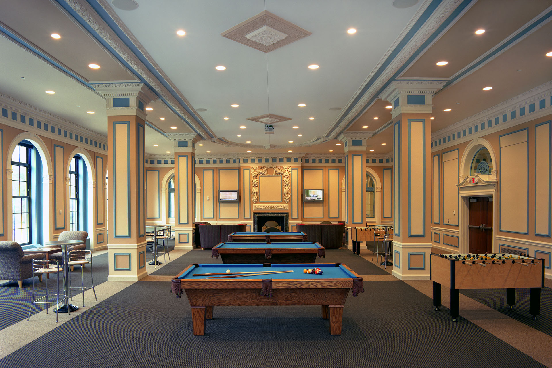 CSU Fenn Tower Game Room