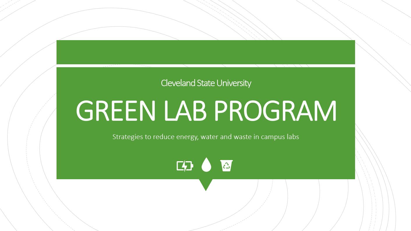 Green Lab training module