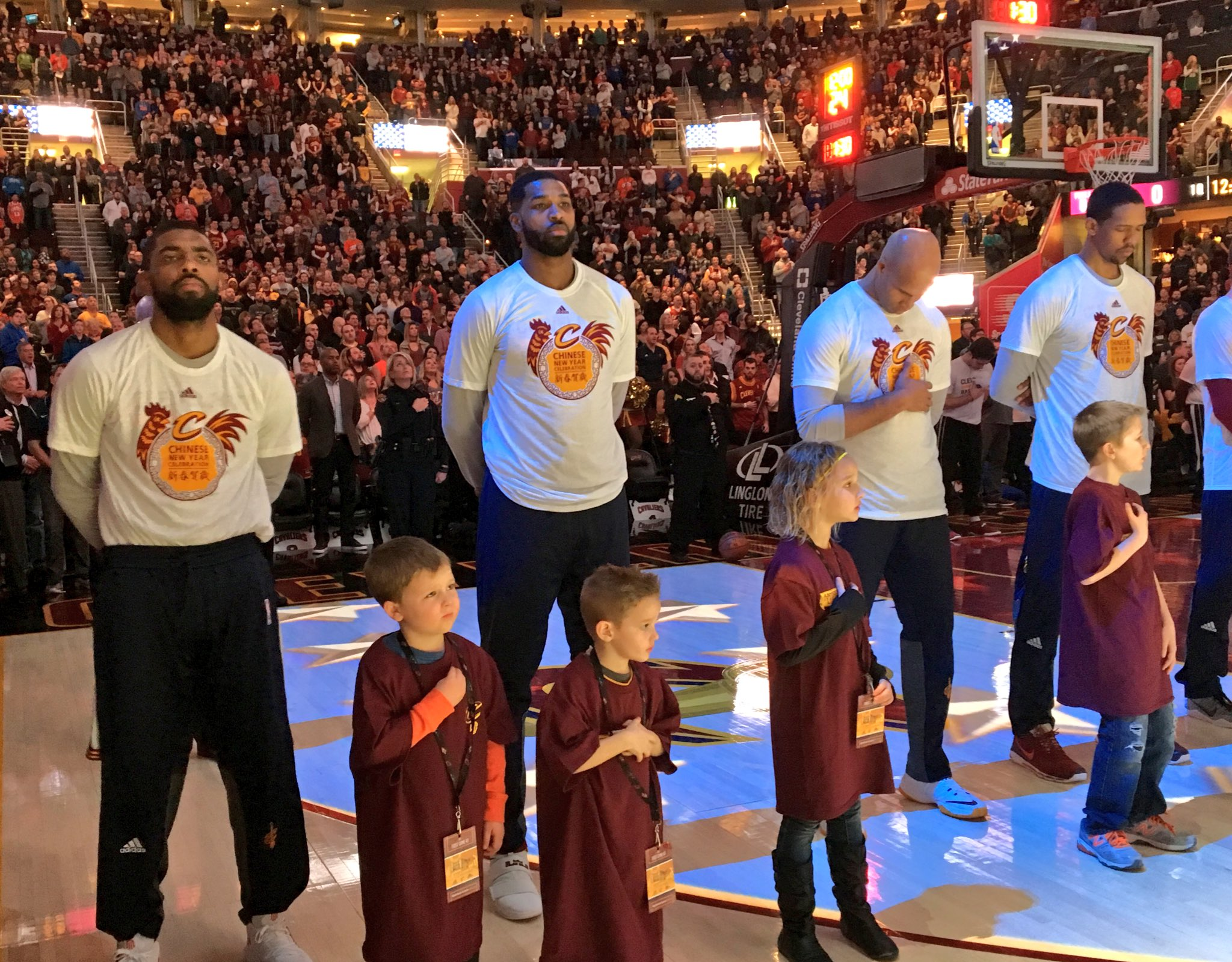 Cleveland Cavaliers Celebrate Chinese New Year 2017