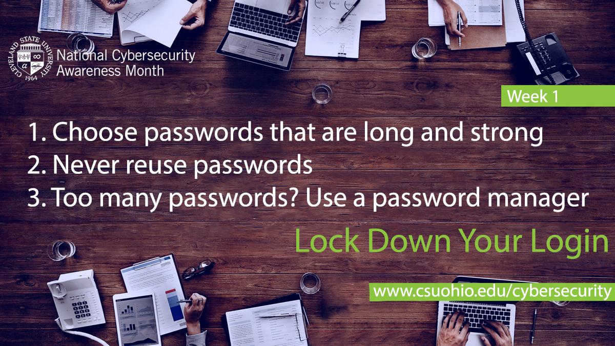 Secure passwords image