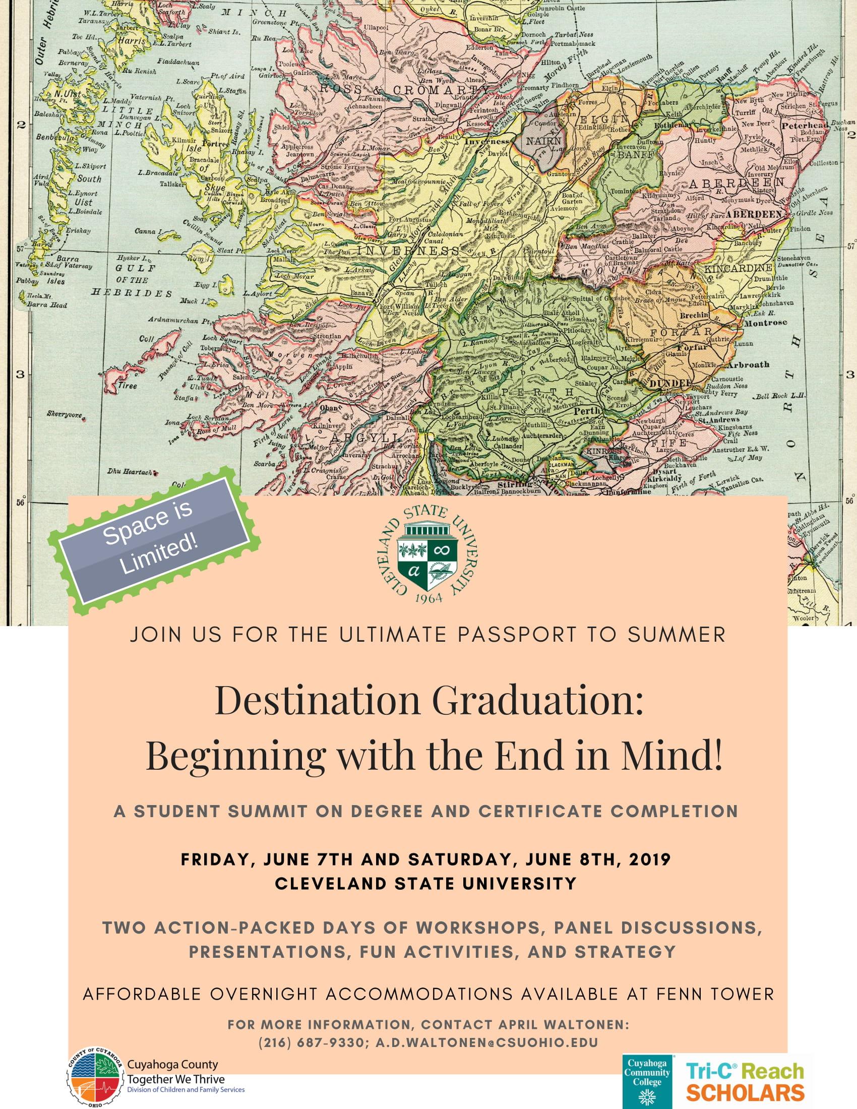 Destination Grad Flyer