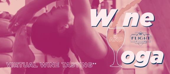Virtual Wine and Yoga