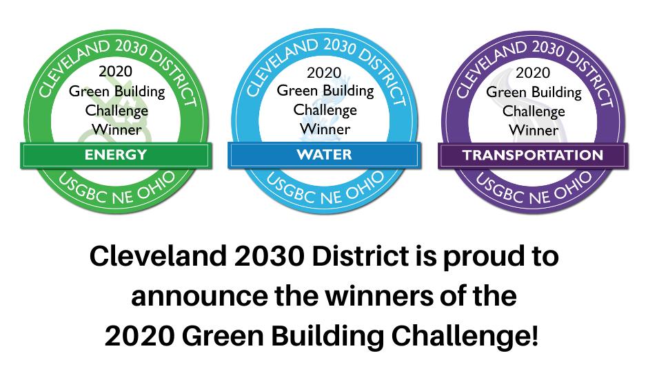 Green Building Challenge 2020 winner seals