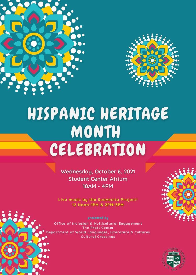 Hispanic Heritage Festival Flyer