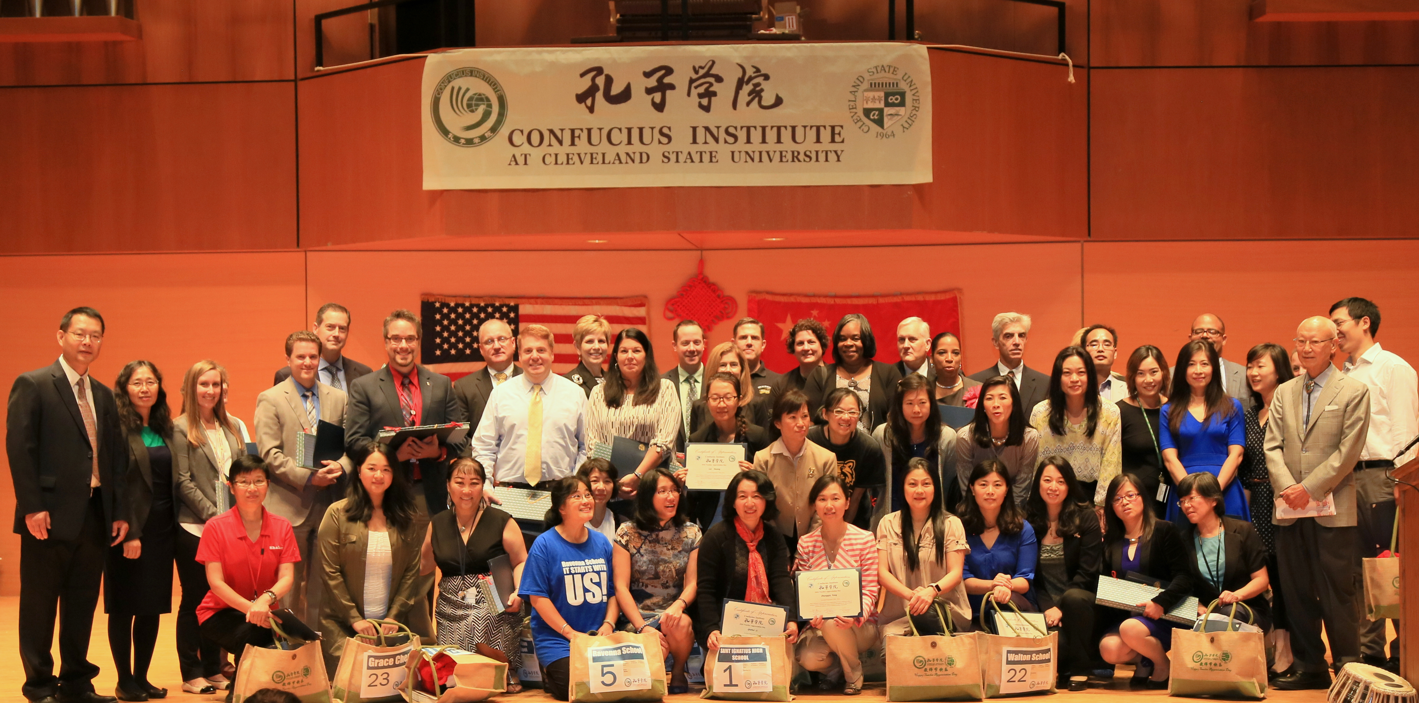 The Ninth Annual Teacher Appreciation Day with the Confucius Institute at Cleveland State University