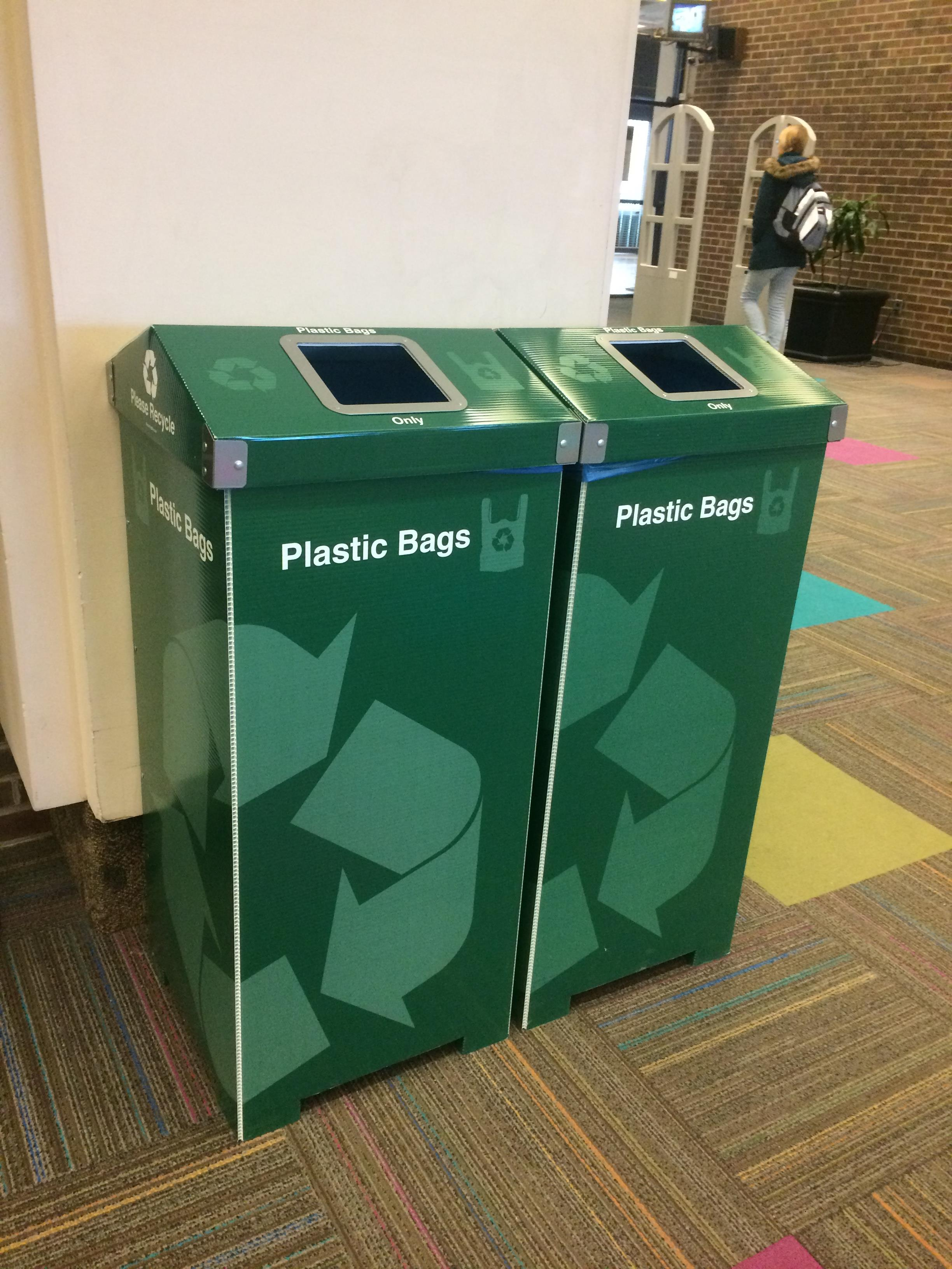 Plastic Bag Recycling Bins RT