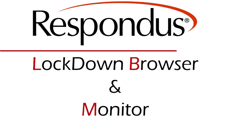 Respondus LockDown Browser and Monitor Logo