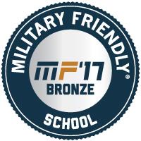 Military Friendly School Bronze 2017