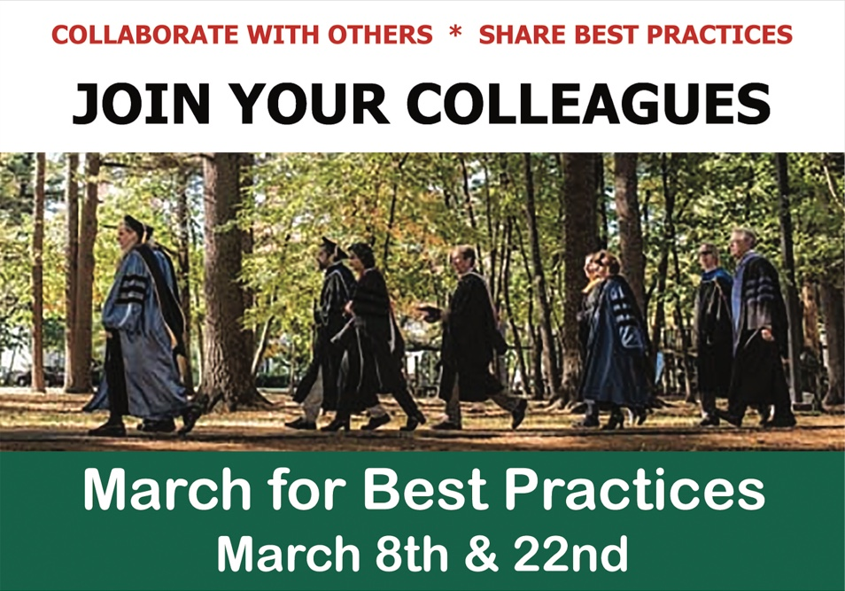 March for Best Practices Flyer