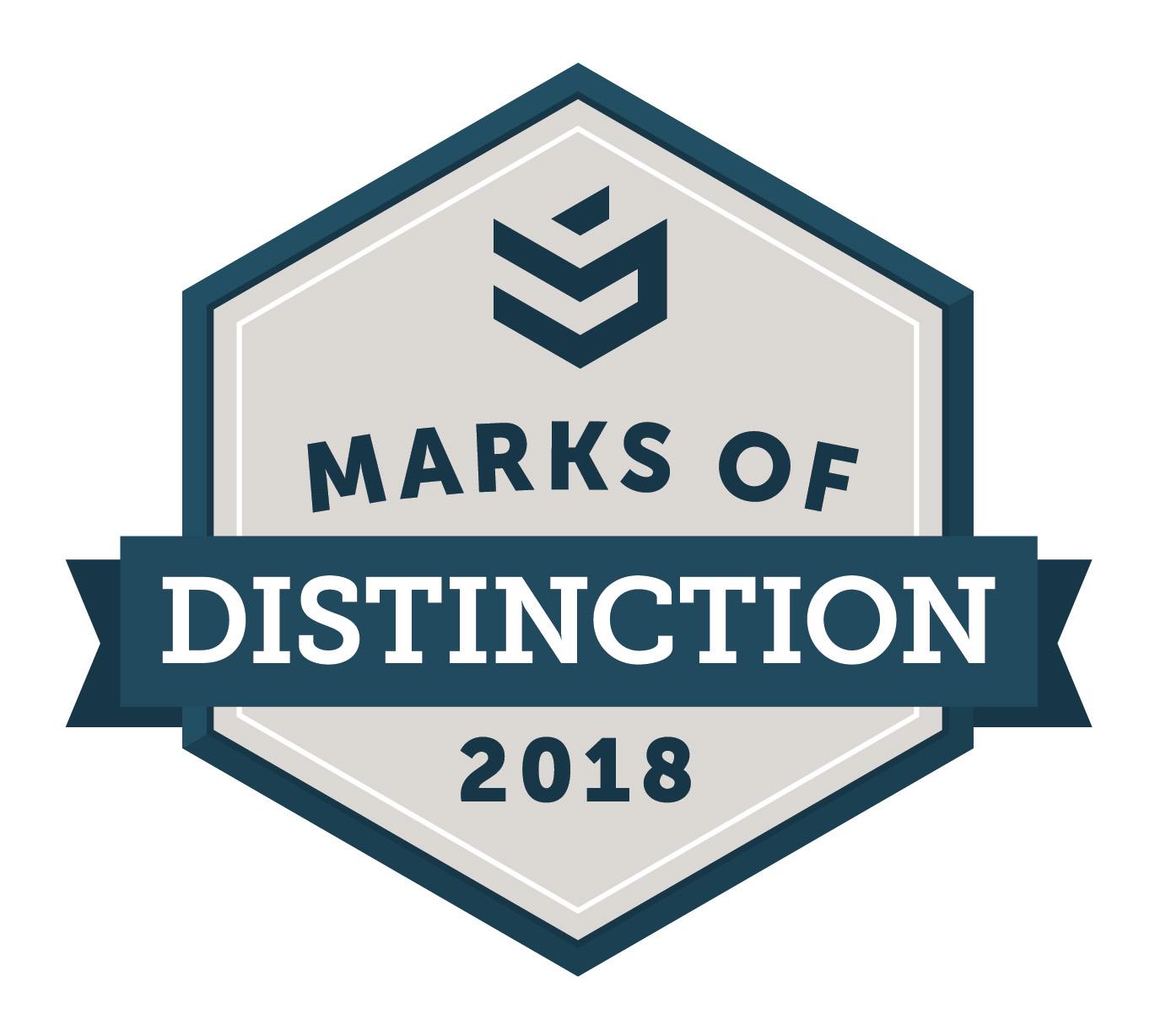 Marks of Distinction 2018