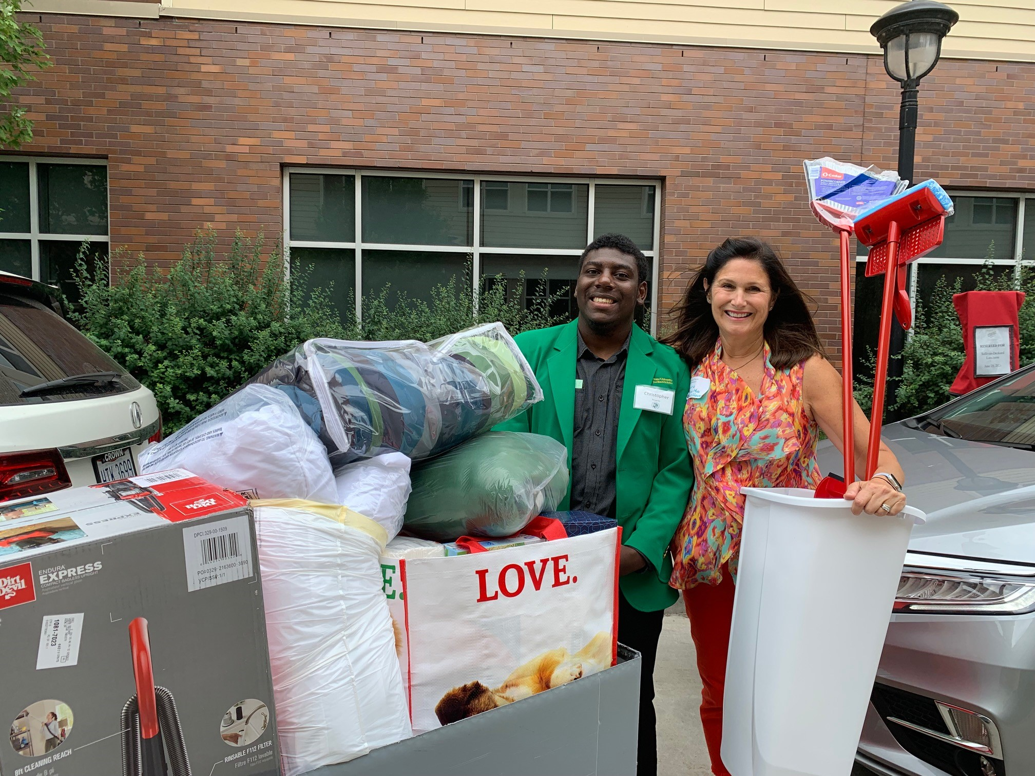 CSU students moving in