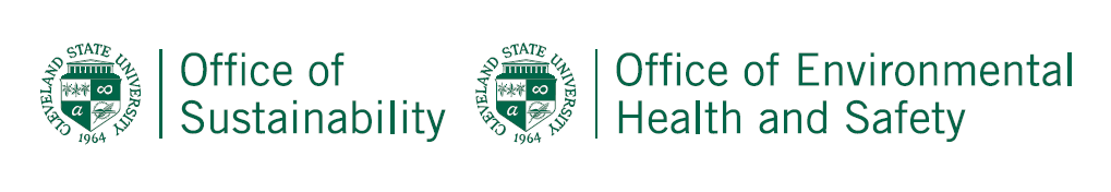 Office of Sustainability and EHS logos