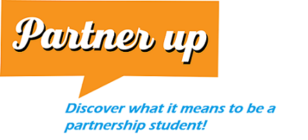 PartnerUp Logo with blue text