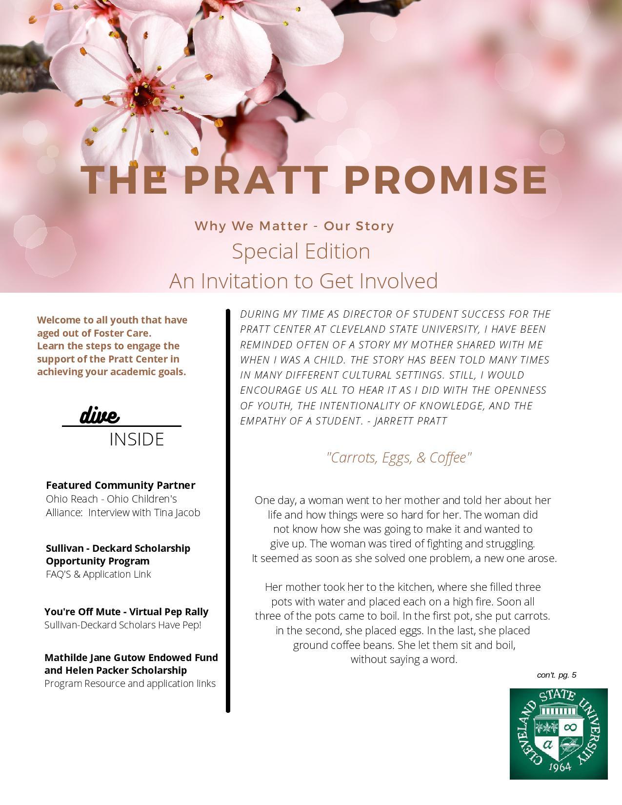 Pratt Center Newsletter Spring 2021