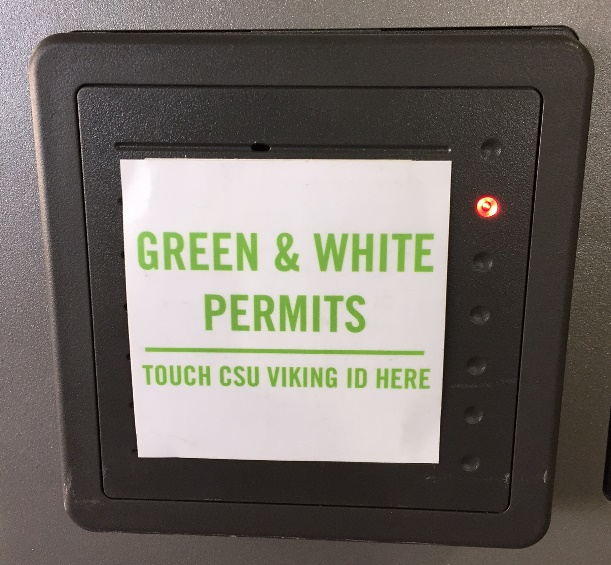 South Garage Viking Card Reader