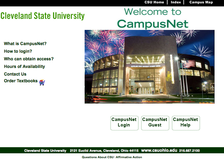 Check Your Application Status Cleveland State University: Csu Ohio Campus Net At Slyspyder.com