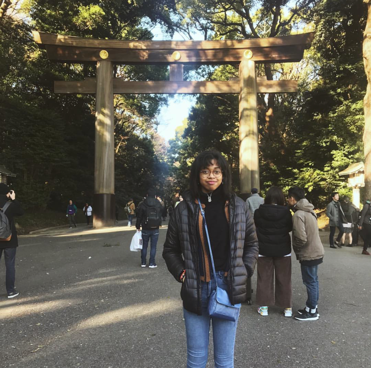 Taylor Wallace in Japan