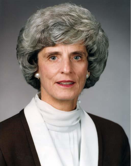 Former CSU President, Claire Van Ummerson