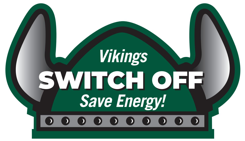 Vikings Switch Off sticker