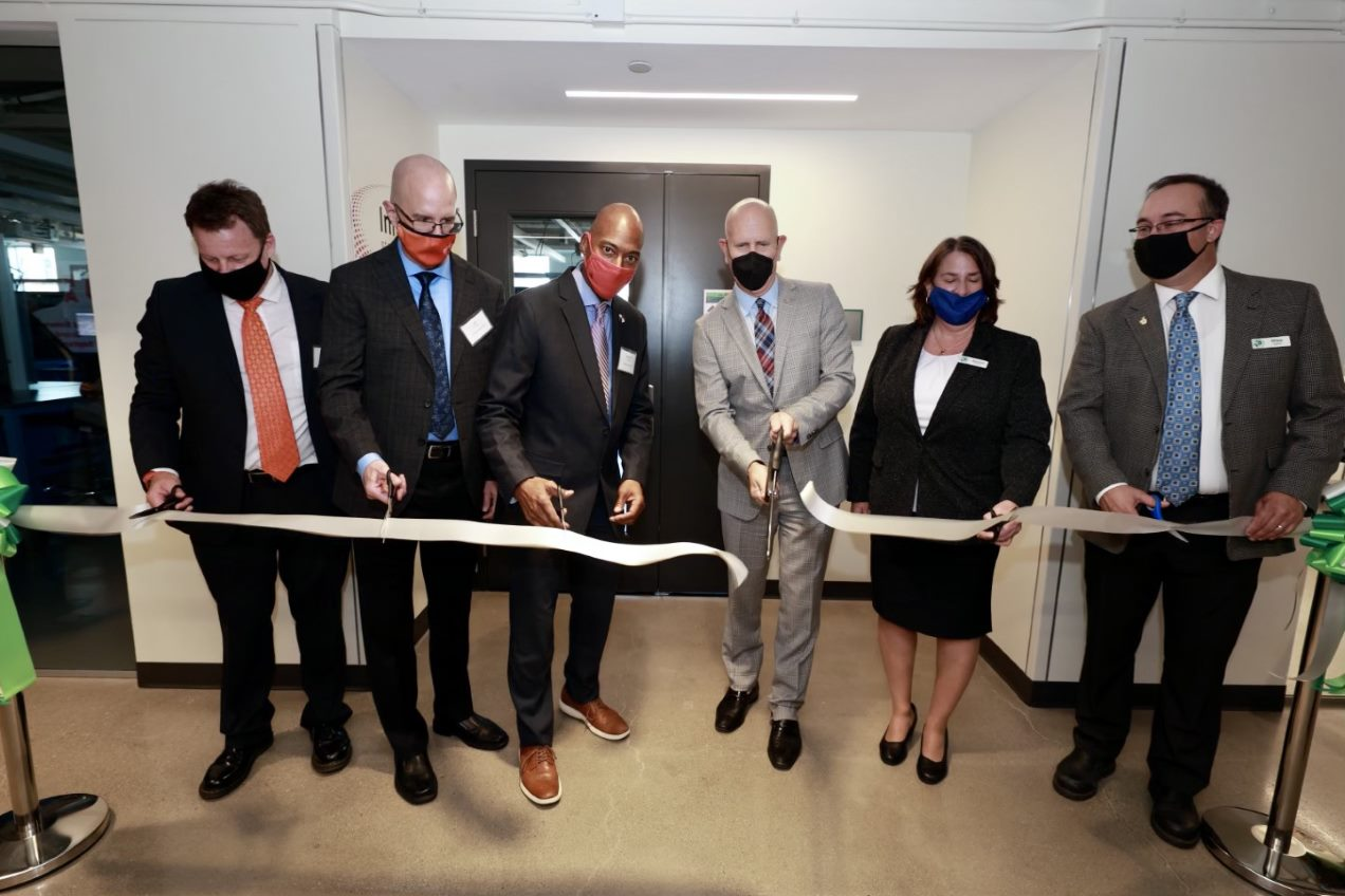 Rockwell Automation Connected Enterprise Laboratory ribbon cutting ceremony