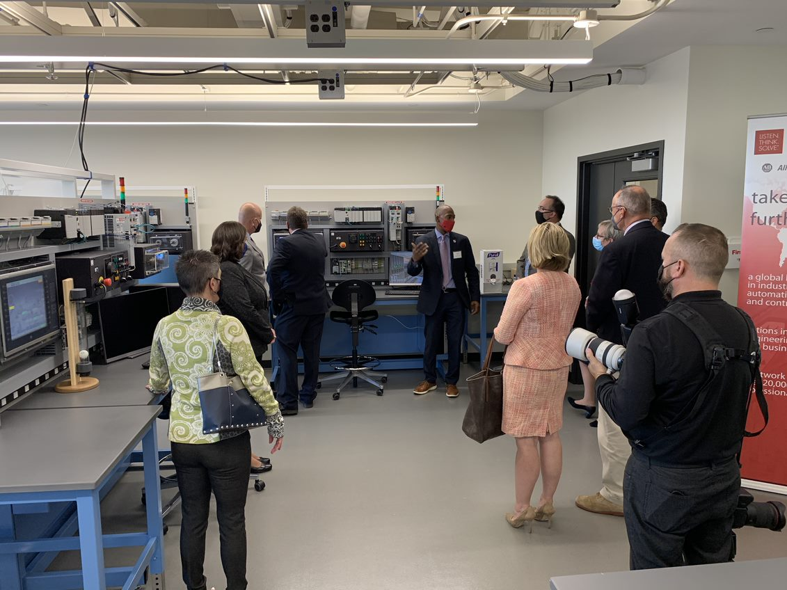 Rockwell Automation Connected Enterprise Laboratory tour September 28, 2021