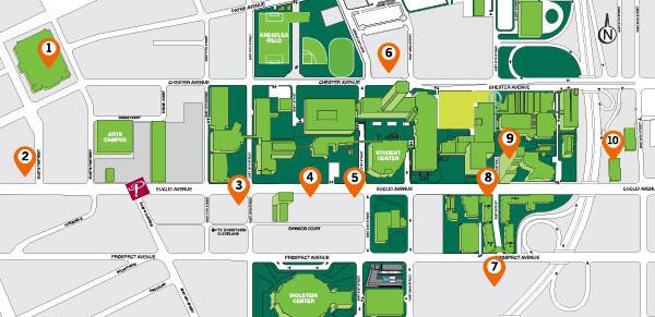 CSU Map w. housing