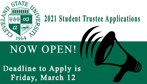 Application for Student Rep on CSU Board of Trustees Now Open