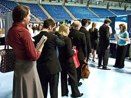 what to say at a career fair