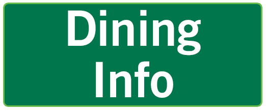 Dining info button