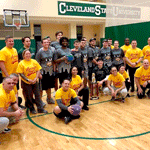 Cleveland Police and CSU Club Dodgeball Team