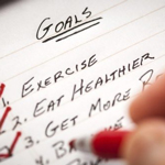 exercise goals checklist