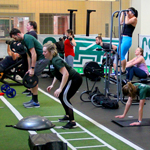 F45 participants at the CSU Rec