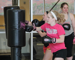 Fitness classes and programs at the CSU Rec