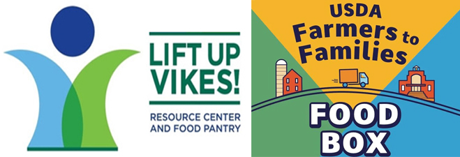 LUV! & USDA Farmers to Families Box Pick Up