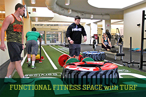 Functional Fitness space with Turf