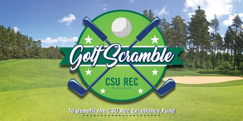 CSU Rec Golf Scramble field banner