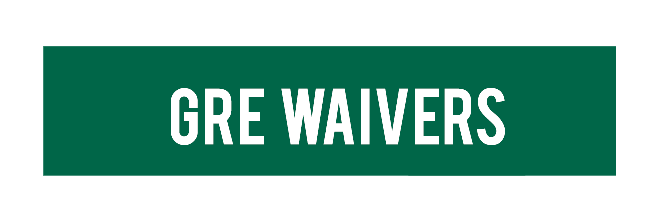 GRE Waiver