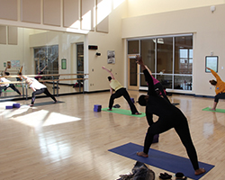 Free Group Fitness Classes at the CSU Rec