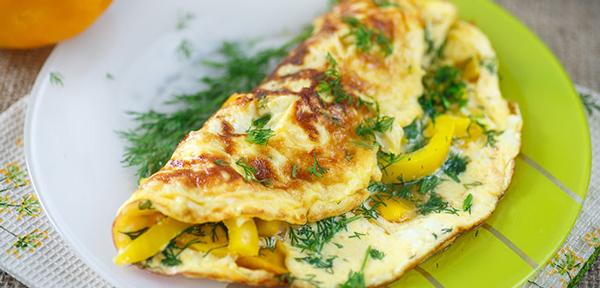 healthy omelette