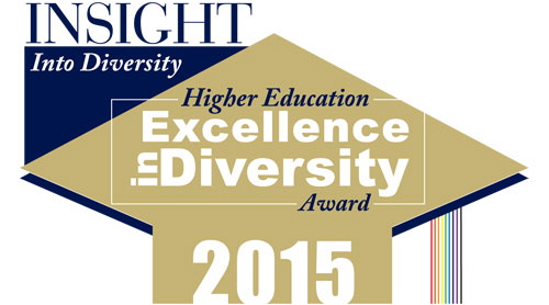 CSU has won a 2015 Higher Education Excellence in Diversity Award