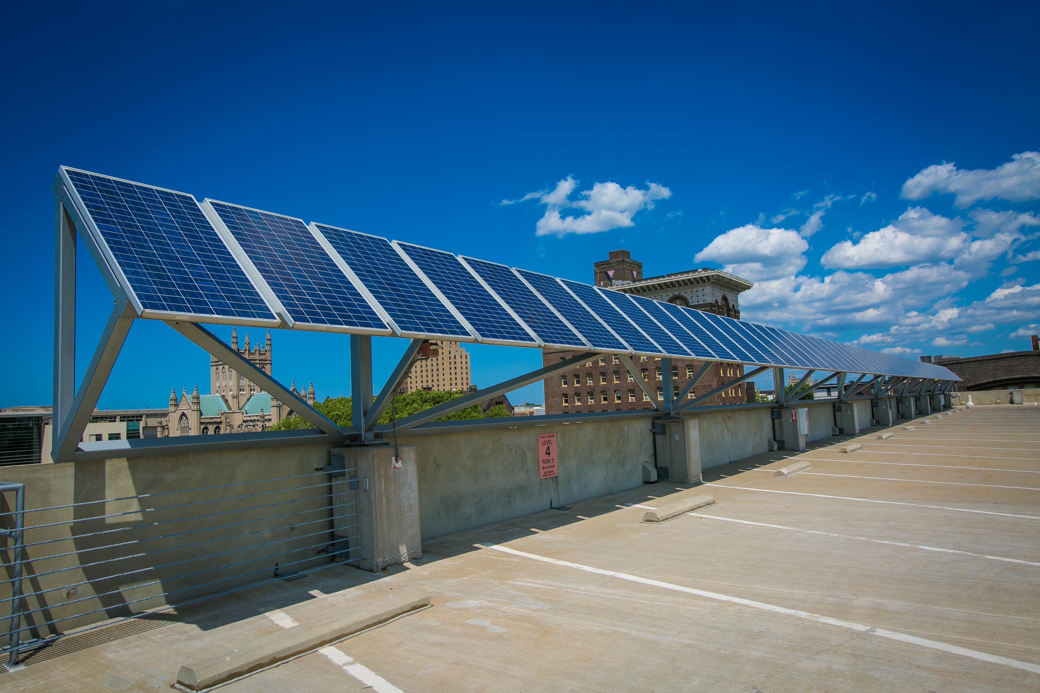 CSU South Garage Solar PV