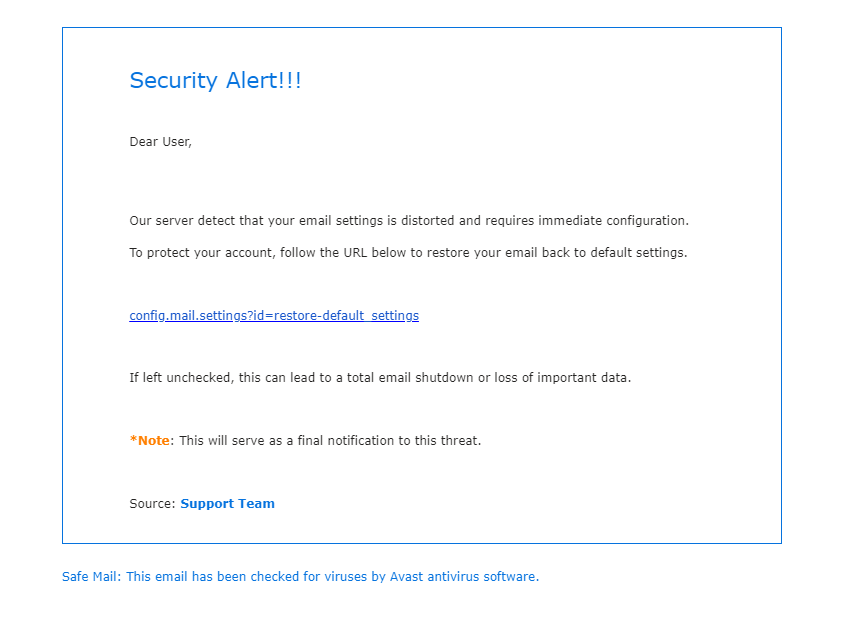 Phishing Notices Archive | Cleveland State University