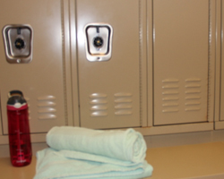 Lockers at the CSU Rec